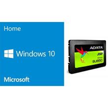 Windows 10 Home(DSP版) + 2.5インチSSD120GBバンドル