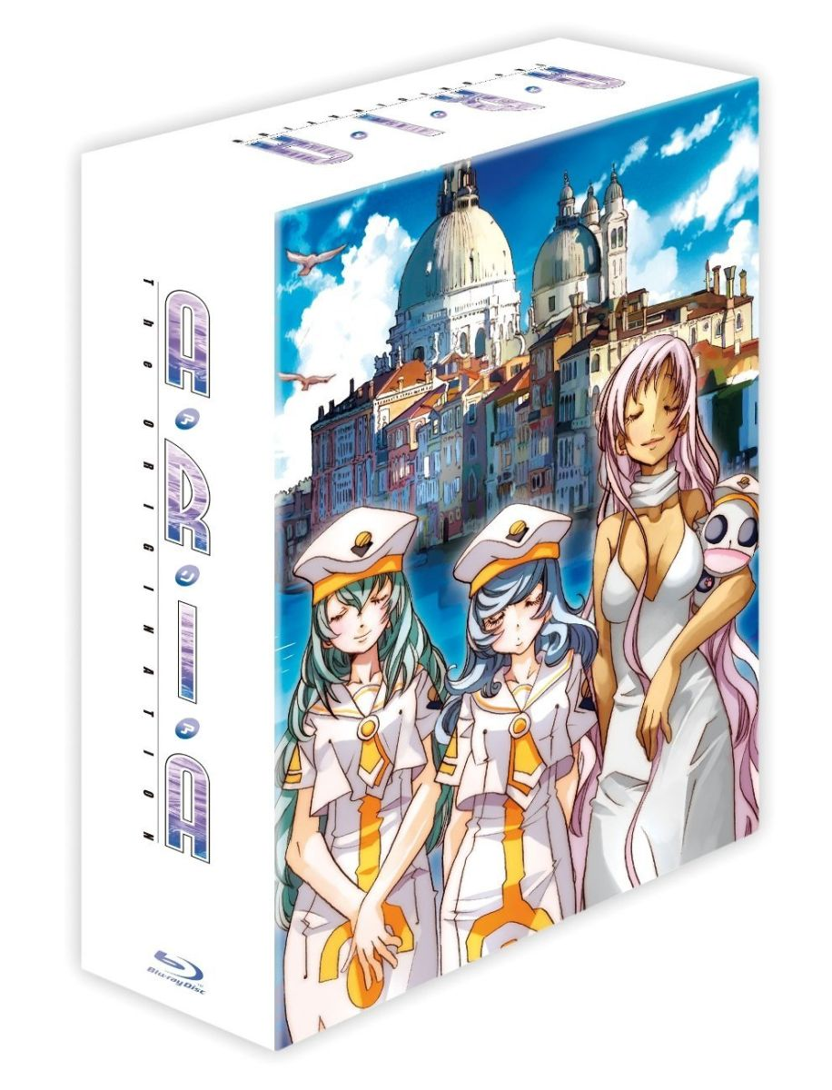 ARIA The ORIGINATION Blu-ray BOX 【Blu-ray】画像