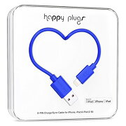 happy plugs Lightningケーブル 2.0m Apple認証 コバルト LIGHTNING-USB-CABLE-COBALT9908