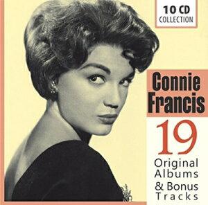 【輸入盤】19 Original Albums & Bonus Tracks [ Connie Francis ]