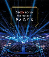 Sexy Zone LIVE TOUR 2019 PAGES(通常盤)【Blu-ray】
