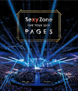 Sexy Zone LIVE TOUR 2019 PAGES(通常盤)【Blu-ray】 [ Sexy Zone ]