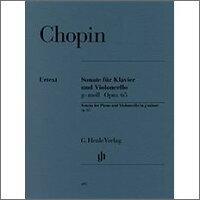 【輸入楽譜】ショパン, Frederic-Francois: チェロ・ソナタ ト短調 Op.65