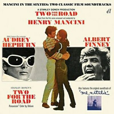 【輸入盤】Two For The Road / Me, Natalie - Mancini In The Sixties: Two Classic Film Soundtracks画像