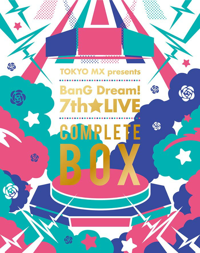 TOKYO MX presents 「BanG Dream! 7th☆LIVE」 COMPLETE BOX【Blu-ray】画像