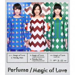 【送料無料】Magic of Love(初回限定盤 CD+DVD) [ Perfume ]