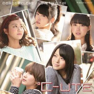 【送料無料】心の叫びを歌にしてみた/Love take it all(初回生産限定盤A CD+DVD) [ ℃-ute ]