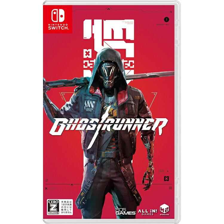 【早期予約特典】Ghostrunner Switch版(【封入】オリジナルデザイン武器DLC「刀」(レッド)+【外付】オリジナルサウンドトラックCD(20曲))