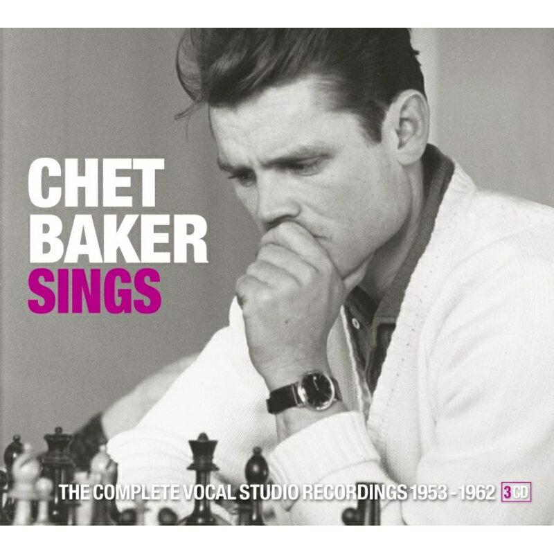 モダン, その他 Sings: The Complete Vocal Studio Recordings 1953-1962 (3CD) Chet Baker