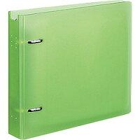 コクヨ ファイル CD/DVD用 透明ケース付 22枚収容 ライトグリーン EDF-CF221LG
