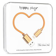 happy plugs Deluxe Edition Lightningケーブル 2.0m Apple認証 ローズゴールド912 022739