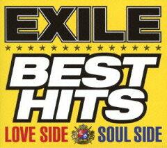 【送料無料】EXILE BEST HITS -LOVE SIDE/SOUL SIDE- (初回生産限定 2CD+3DVD) [ EXILE ]