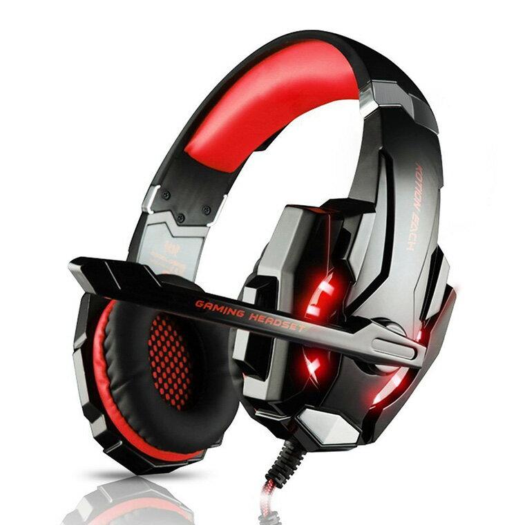 【お買い物マラソン期間限定価格】ゲーミングヘッドセットG9000 nintendoswitchフォートナイトボイスチャット対応 赤