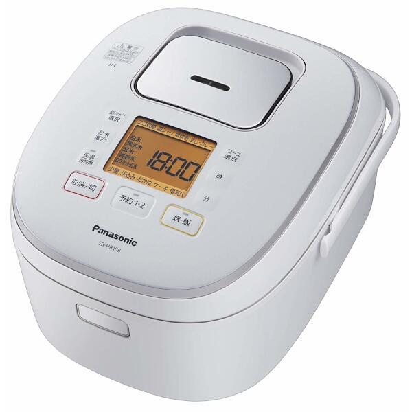 Panasonic IHジャー炊飯器 1.0L (ホワイト) SR-HB108-W