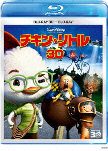 チキン・リトル 3Dセット【Blu-ray】 【Disneyzone】画像