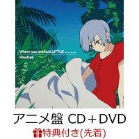 【先着特典】Where you are feat. LITTLE(KICK THE CAN CREW) (アニメ盤 CD+DVD)(「Where you are」オリジナルデザインポストカード(5種ランダム))