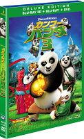 カンフー・パンダ3 3枚組3D・2Dブルーレイ&DVD(初回生産限定)【Blu-ray】