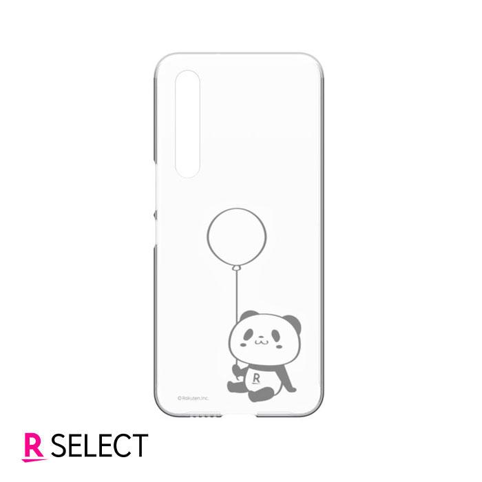 【楽天モバイル純正】Rakuten BIG お買いものパンダクリアケース(バルーン)