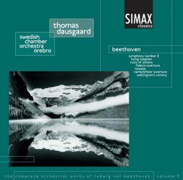 【輸入盤】交響曲第8番、ウェリントンの勝利、他 ダウスゴー&スウェーデン室内管 [ ベートーヴェン(1770-1827) ]