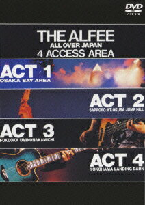 THE ALFEE ALL OVER JAPAN 4 ACCESS AREA 1988【初回生産限定】