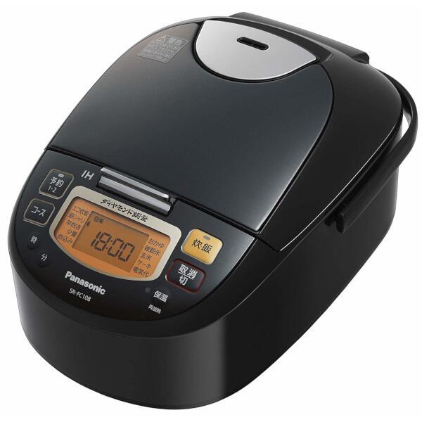 Panasonic IHジャー炊飯器 1.0L (ブラック) SR-FC108-K