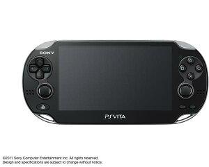 【送料無料】PlayStation(R)Vita 3G/Wi-Fiモデル クリスタル・ブラック 初回限定版