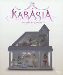 KARA 1ST JAPAN TOUR 2012 KARASIA【初回盤】【Blu-ray】