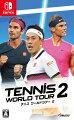テニス ワールドツアー 2 Switch版の画像