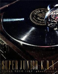 SUPER JUNIOR-K.R.Y. JAPAN TOUR 2015 〜phonograph〜【Blu-ray】 [ SUPER JUNIOR-K.R.Y. ]