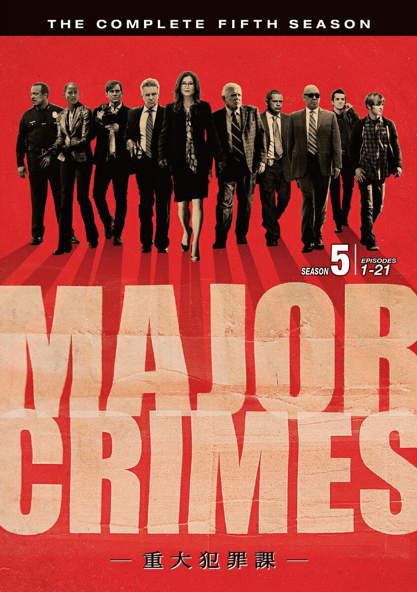 MAJOR CRIMES 〜重大犯罪課〜 <フィフス・シーズン> コンプリート・ボックス画像