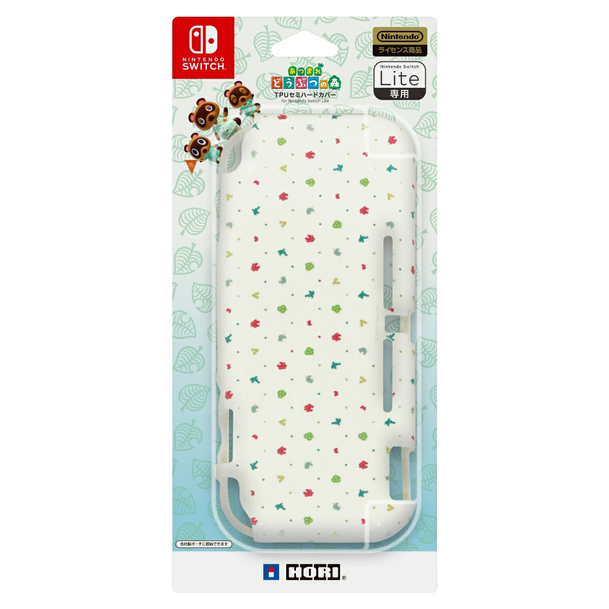あつまれどうぶつの森 TPUセミハードカバー for Nintendo Switch Lite