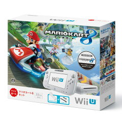 【楽天ブックスならいつでも送料無料】Wii U マリオカート8 セット(シロ)