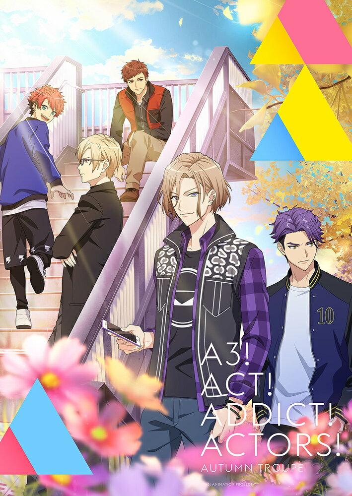 アニメ『A3!』【5】【Blu-ray】