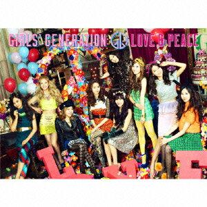 【送料無料】LOVE & PEACE(初回限定盤 CD+DVD) [ 少女時代 ]