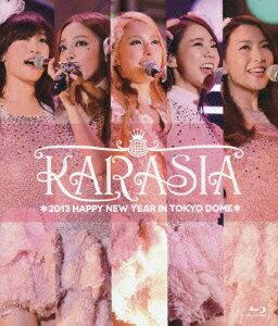 【送料無料】KARASIA 2013 HAPPY NEW YEAR in TOKYO DOME【初回限定盤】【Blu-ray】 [ K...