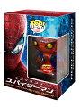 【数量限定】『アメイジング・スパイダーマン ブルーレイ&DVDセット』POP!メタリック スパイダーマンフィギュア付(ファンコ社製)【Blu-ray】【楽天ブックスオリジナル商品】