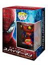 【送料無料】『アメイジング・スパイダーマン ブルーレイ&DVDセット』POP!メタリック スパイダ...