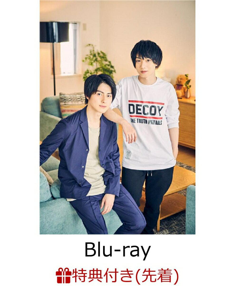 【先着特典】REAL⇔FAKE One Day's Diary 悠輔&黎士郎編【初回限定版】(悠輔&黎士郎ブロマイド2枚セットE)【Blu-ray】