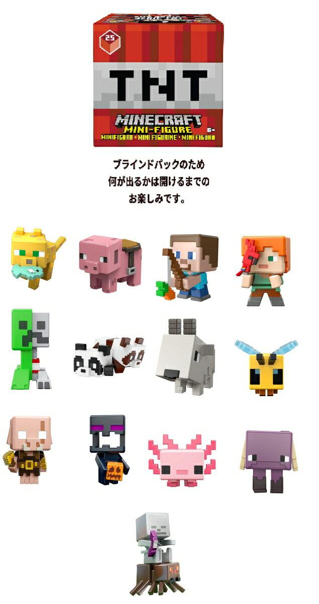 マインクラフト(MINECRAFT) ミニフィギュア TNTシリーズ 【6歳~】 987N-FXT80