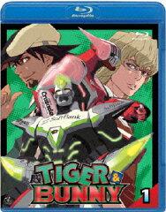 【送料無料】TIGER & BUNNY(タイガー&バニー) 1【Blu-ray】 [ 平田広明 ]