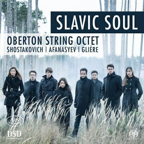 【輸入盤】Slavic Soul-shostakovich, N.afanasyev, Gliere: Oberton String Octet (Hyb)画像