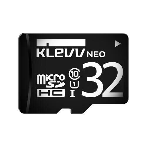 【KLEVV】NEO microSDHC 32GB U1 C10 With adapter retail box