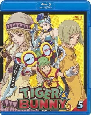 TIGER & BUNNY(タイガー&バニー) 5【Blu-ray】画像