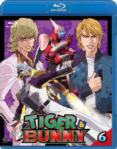 TIGER&BUNNY(タイガー&バニー) 6【Blu-ray】画像
