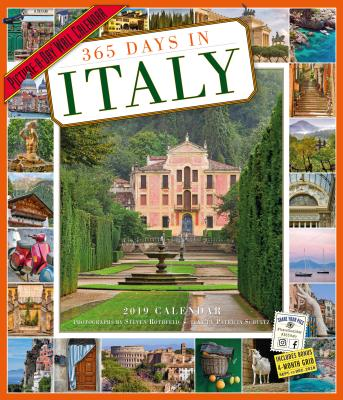 365 Days in Italy Picture-A-Day Wall Calendar 2019画像
