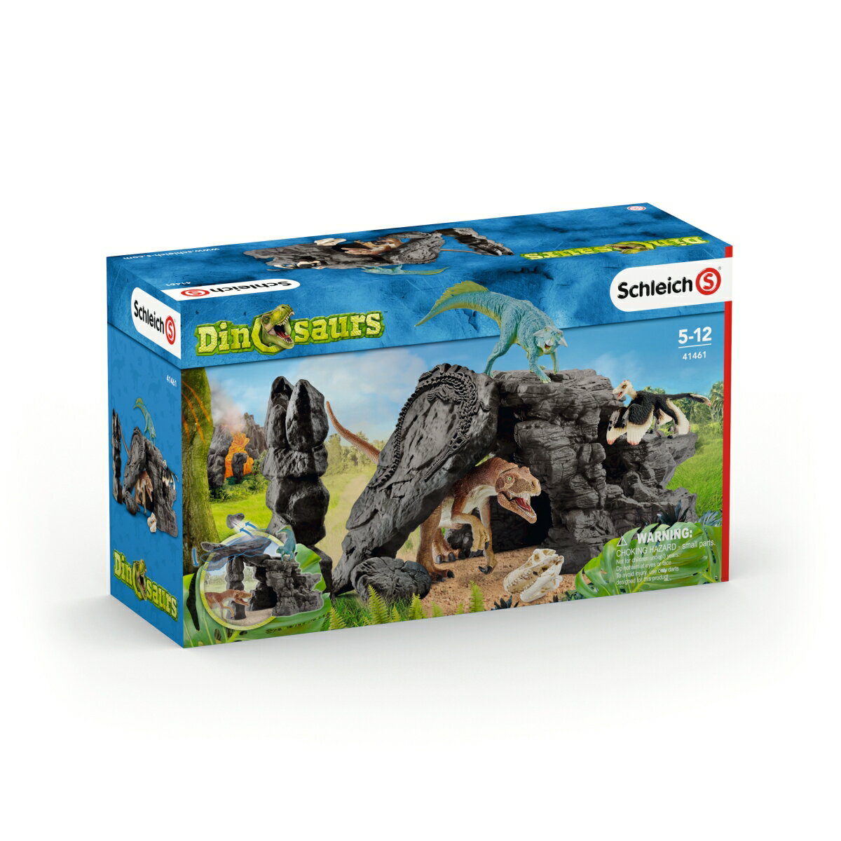41461 恐竜たちの洞窟プレイセット 【シュライヒ】 DINOSAURS/恐竜