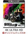 【楽天ブックス限定配送パック】【楽天ブックス限定グッズ+楽天ブックス限定先着特典】ワイルド・スピード/ジェットブレイク 4K Ultra HD+ブルーレイ【4K ULTRA HD】(オリジナルカラビナ+クリアステッカー)