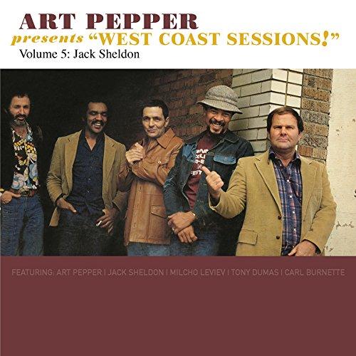 【輸入盤】Art Pepper Presents West Coast Sessions! Volume 5: Jack Sheldon画像