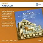 【輸入盤】『ナブッコ』全曲 ムーティ&フィルハーモニア管、マヌグエッラ、スコット、他(1978 ステレオ)(2CD) [ ヴェルディ(1813-1901) ]