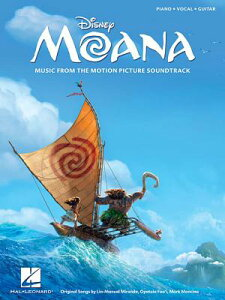 Moana: Music from the Motion Picture Soundtrack MOANA [ Lin-Manuel Miranda ]